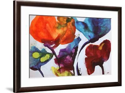 Affluent IV-Leila-Framed Art Print