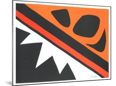 La Grenouille et la Scie-Alexander Calder-Mounted Art Print