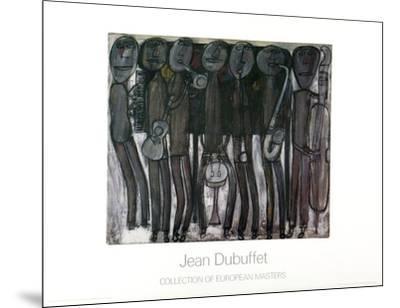 New Orleans Jazz Band-Jean Dubuffet-Mounted Art Print