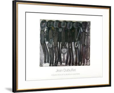 New Orleans Jazz Band-Jean Dubuffet-Framed Art Print