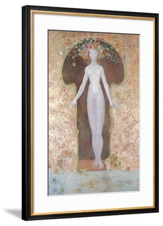 La Serrure-Leonor Fini-Framed Art Print