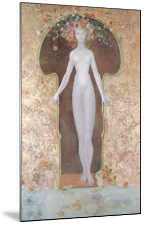 La Serrure-Leonor Fini-Mounted Art Print