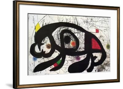 Untitled-Joan Mir?-Framed Collectable Print