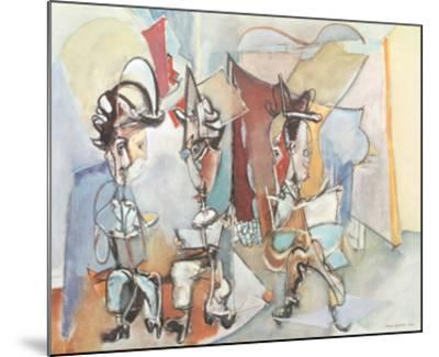 Three Musicians-Max Weber-Mounted Art Print