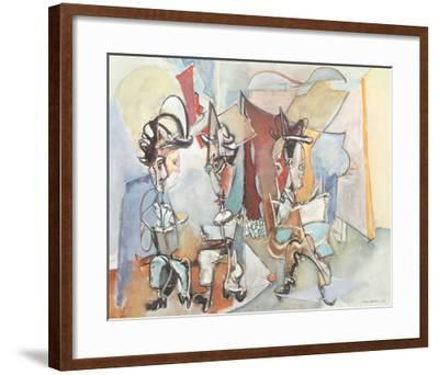 Three Musicians-Max Weber-Framed Art Print