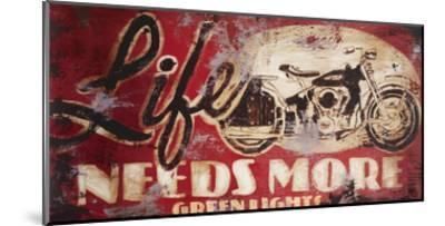 Green Lights-Rodney White-Mounted Giclee Print