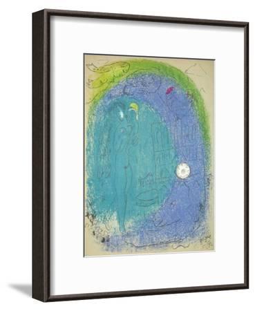 Vision de Paris Notre Dame-Marc Chagall-Framed Premium Edition