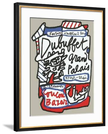 Coucou Bazar-Jean Dubuffet-Framed Premium Edition