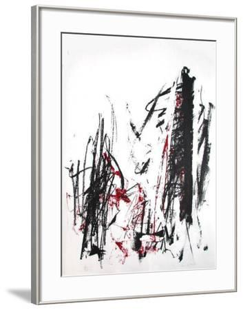 Composition III-Joan Mitchell-Framed Limited Edition