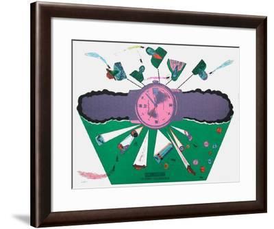 Sans Démagogie 14-Antonio Segui-Framed Limited Edition