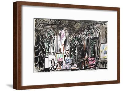 Carnet de Californie 01-Pablo Picasso-Framed Premium Edition