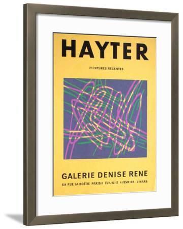 Exposition Galerie Louis Carré-Stanley William Hayter-Framed Premium Edition
