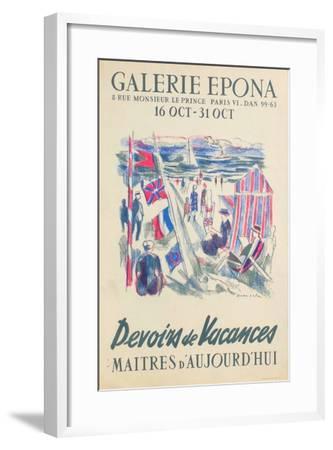 Devoirs De Vacances-Emilio Grau-Sala-Framed Collectable Print