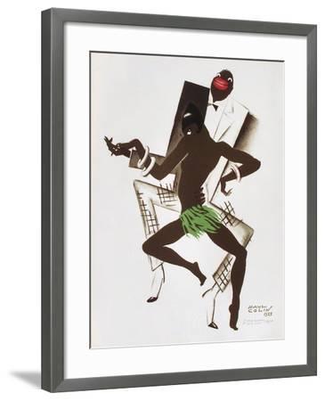 Bal Nègre-Paul Colin-Framed Premium Edition