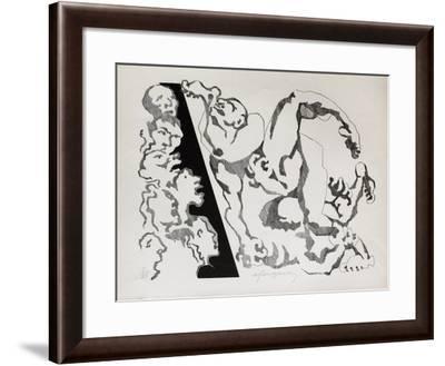 Lutte-Andr? Fougeron-Framed Limited Edition