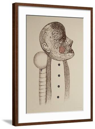 Portrait d'homme III-Uno George Svensson-Framed Limited Edition