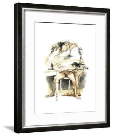 Couple II-Julio Zapata-Framed Collectable Print