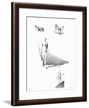 Composition-Jean Gourmelin-Framed Collectable Print