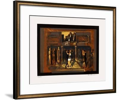 Soirée tango-Carlos Torrallardona-Framed Limited Edition