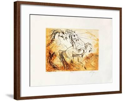 Pharès-Jean-marie Guiny-Framed Limited Edition