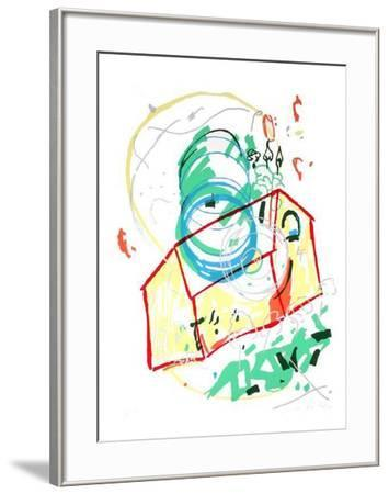 Composition-J?r?me Fonchain-Framed Limited Edition