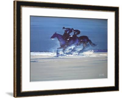 c - Entrainement à Deauville III-Victor Spahn-Framed Premium Edition