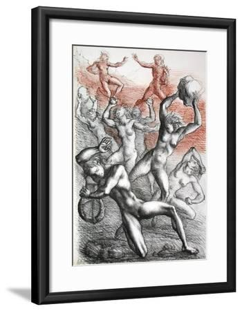 Metamorfosi di Ovidio 11-Marcello Tommasi-Framed Collectable Print