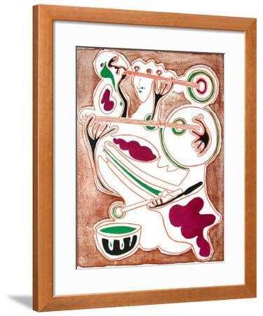 Sonomachie I-Jean Pons-Framed Limited Edition