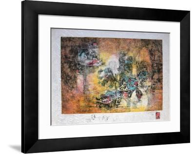 Papier De Riz - Paysage Marin-Lebadang-Framed Premium Edition