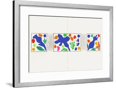 Verve - CoqueIIcots-Henri Matisse-Framed Premium Edition