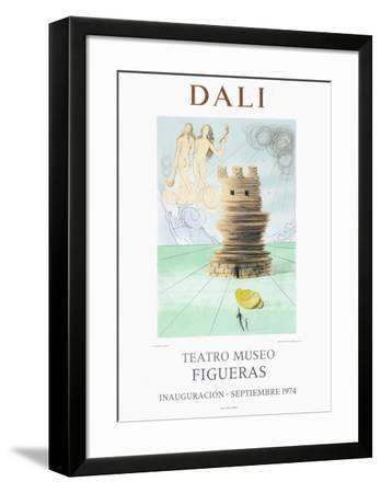 Teatro Museo Figueras 5-Salvador Dal?-Framed Collectable Print