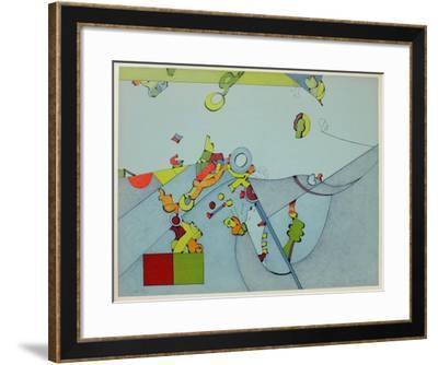 Composition V-Sizu Simada-Framed Limited Edition