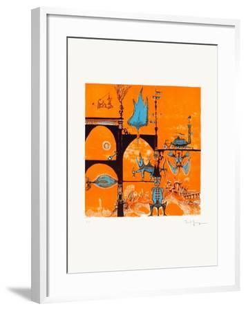 Un Monde Imaginaire-Marcel Genay-Framed Collectable Print