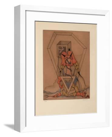 Les Vitriers 1-Jorge Camacho-Framed Limited Edition