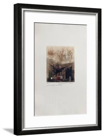 A L'Écoute De La Terre--Framed Limited Edition