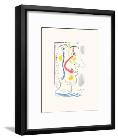 Le Goût du Bonheur 10-Pablo Picasso-Framed Premium Edition