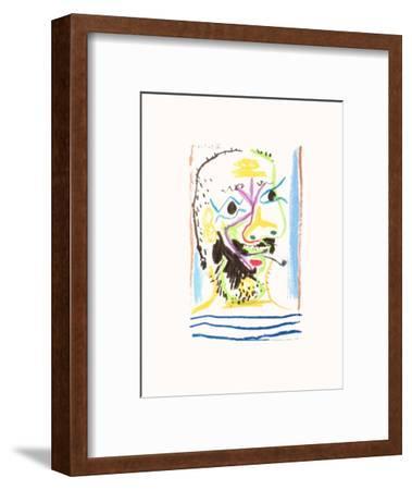 Le Goût du Bonheur 16-Pablo Picasso-Framed Premium Edition