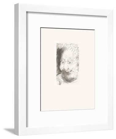 Le Goût du Bonheur 33-Pablo Picasso-Framed Serigraph