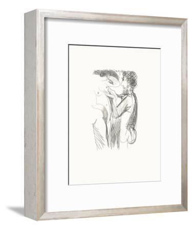 Le Goût du Bonheur 50-Pablo Picasso-Framed Serigraph