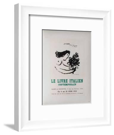 AF 1953 - Le IIvre ItaIIen-Marc Chagall-Framed Collectable Print