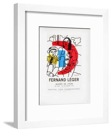 AF 1955 - Musée De Lyon-Fernand Leger-Framed Collectable Print
