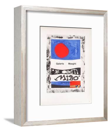 AF 1953 - Galerie Maeght-Joan Mir?-Framed Collectable Print