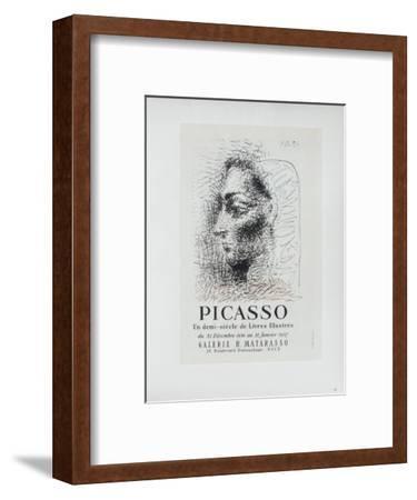 AF 1957 - Galerie Matarasso-Pablo Picasso-Framed Collectable Print