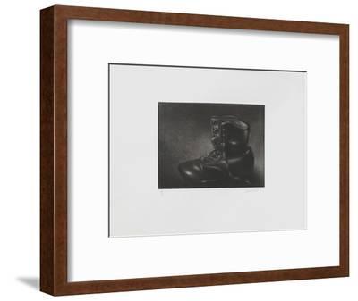 La godasse-Laurent Schkolnyk-Framed Limited Edition
