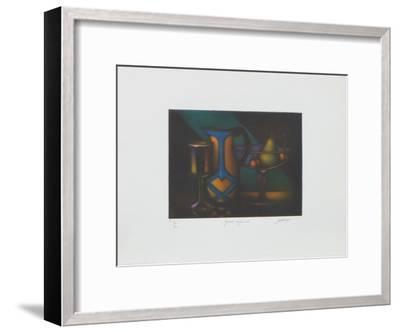 Grand rayon vert-Laurent Schkolnyk-Framed Limited Edition