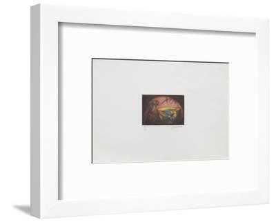 La perruche-Laurent Schkolnyk-Framed Limited Edition