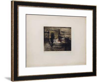 Vaisseau-Ren? Carcan-Framed Limited Edition