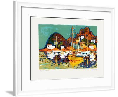 Port En Espagne-Guy Charon-Framed Limited Edition