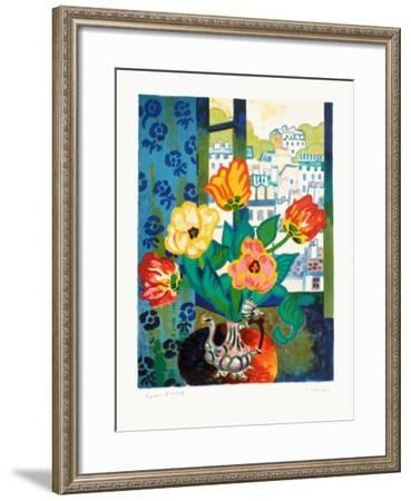 Bouquet De TuIIpes-Guy Charon-Framed Limited Edition