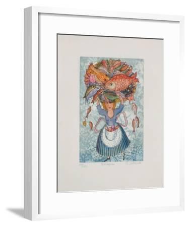 Mareyeuse-Fran?oise Deberdt-Framed Limited Edition